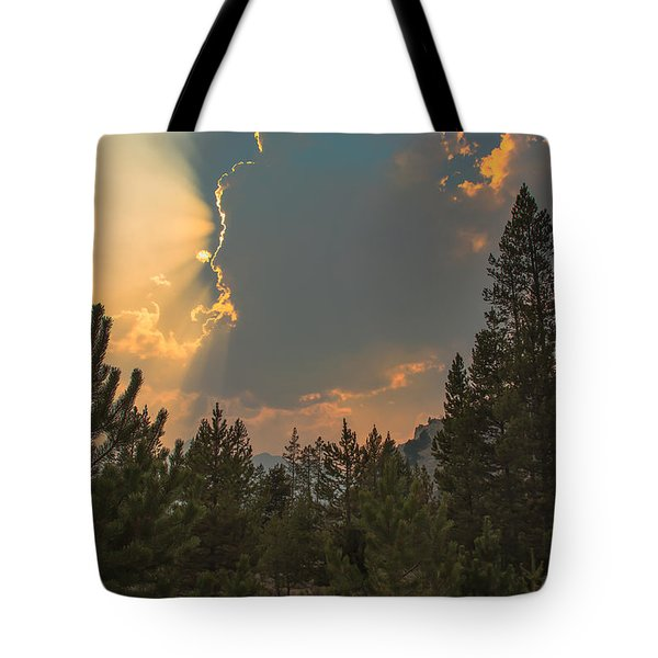 Light From Heaven Tote Bag by Robert Bales
