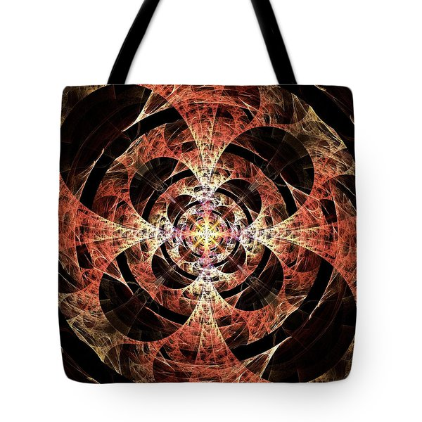 Light In A Tunnel Tote Bag
