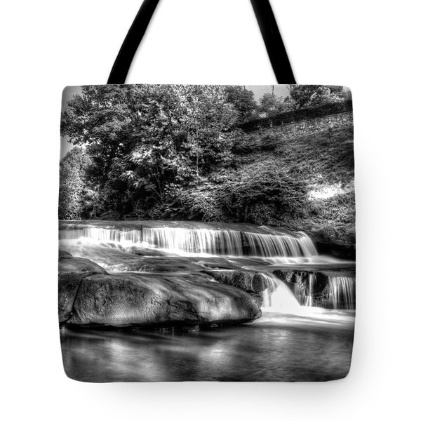 Light In Black And White Tote Bag