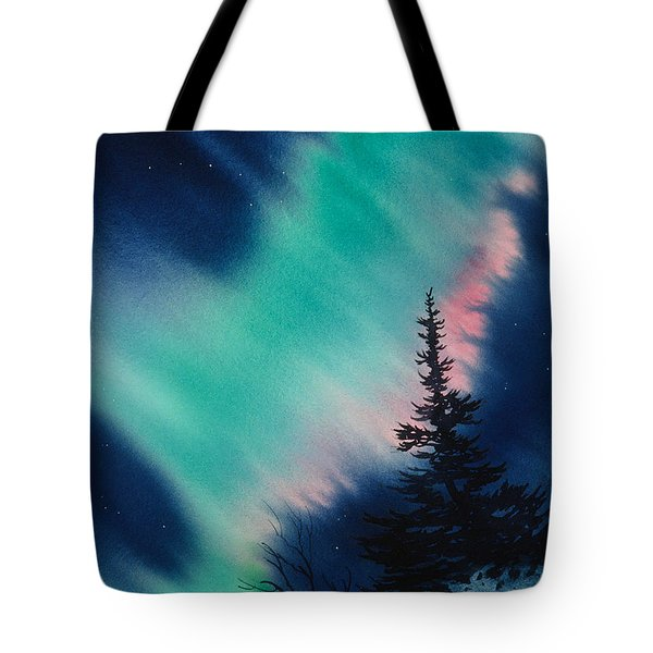 Light In The Dark Of Night Tote Bag