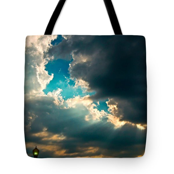 Light In The Storm Tote Bag