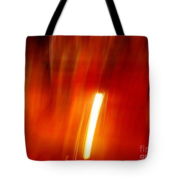 Light Intrusion Tote Bag