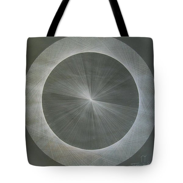 Light Is Pi  The Shape Of Pi Tote Bag by Jason Padgett