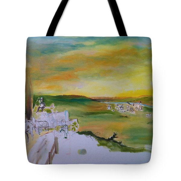 Light Tote Bag by Mary Ellen Anderson