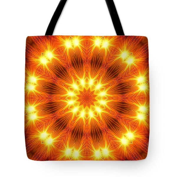 Light Meditation Tote Bag by Joseph J Stevens
