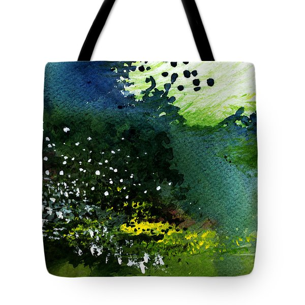 Light Music Tote Bag by Anil Nene