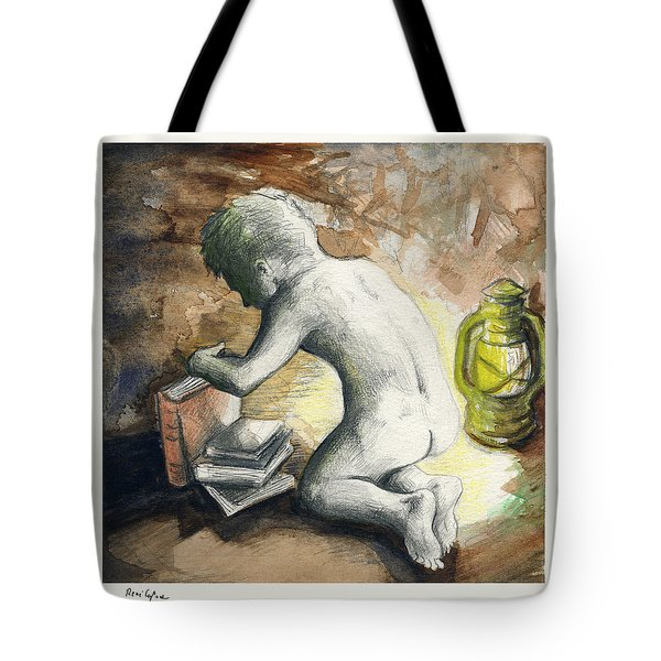 Light My Way Tote Bag