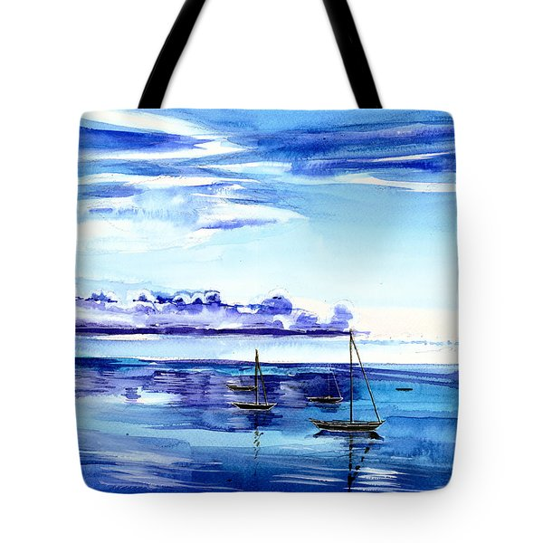 Light N Water Tote Bag by Anil Nene