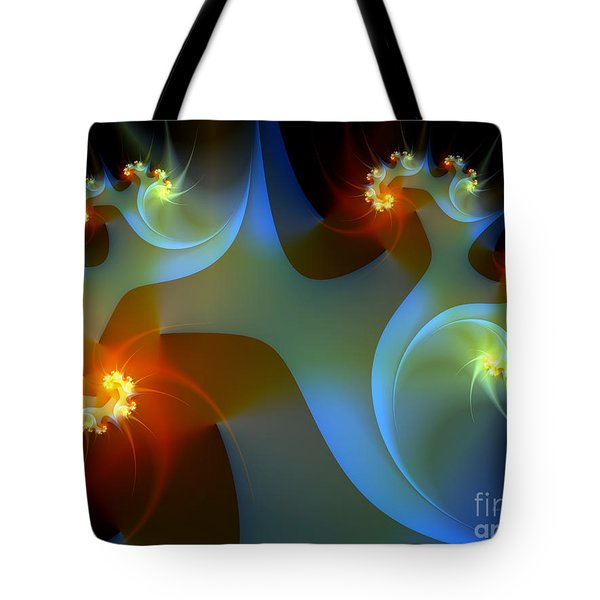 Light Object-fractal Art Tote Bag
