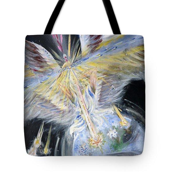 Light Of Awakening Tote Bag