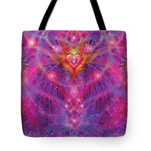 Light Of Passion Reborn Tote Bag by Alixandra Mullins
