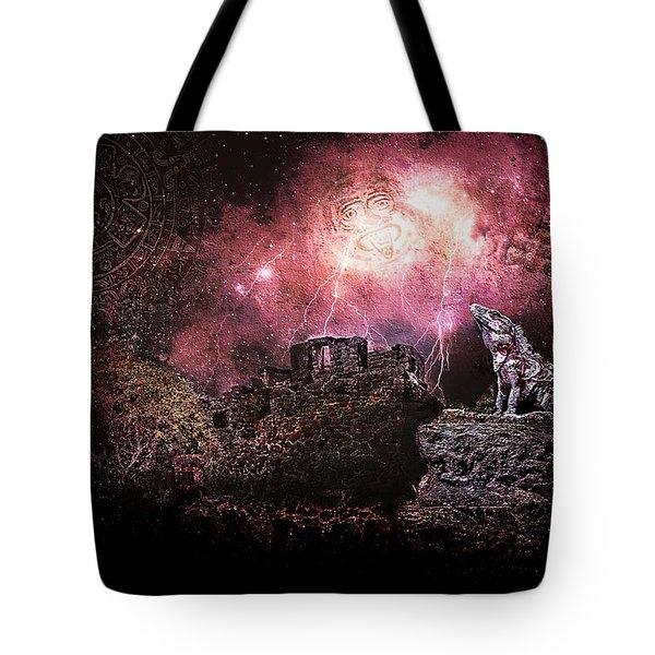 Light Of The Maya Tote Bag