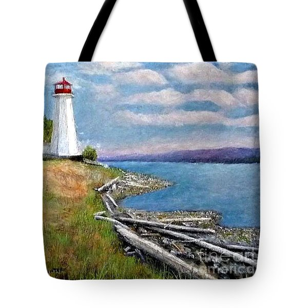 Light On Straight  Of Gorgea Tote Bag