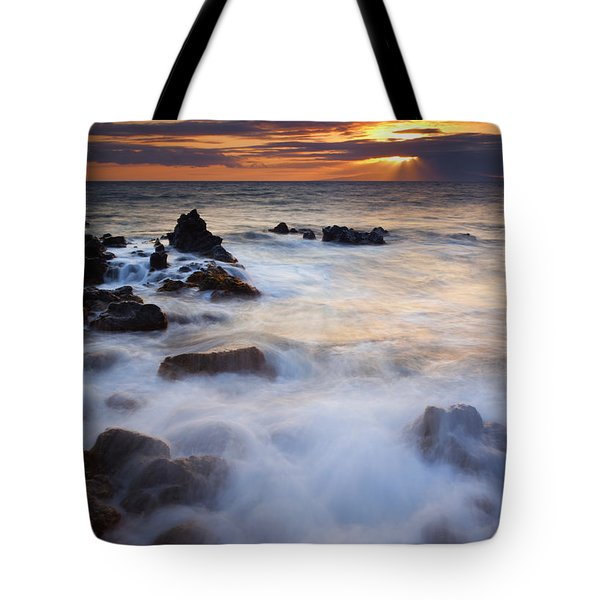 Light Over Lanai Tote Bag by Mike  Dawson