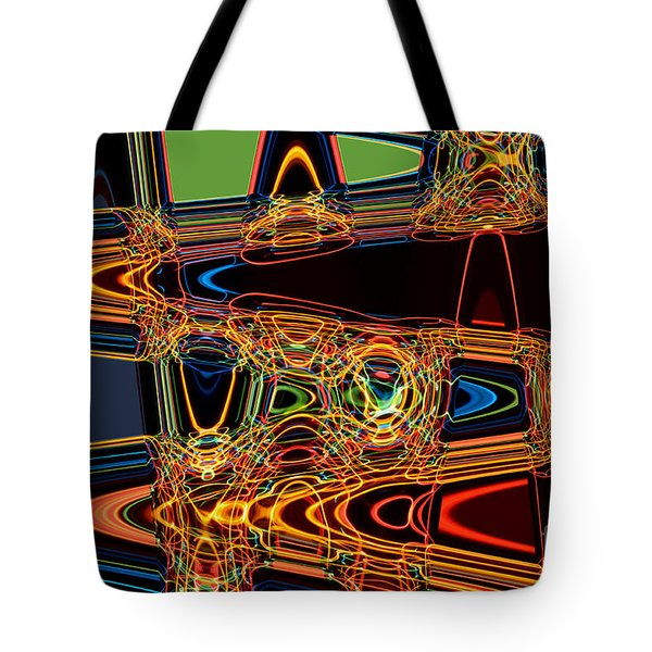 Light Painting 3 Tote Bag