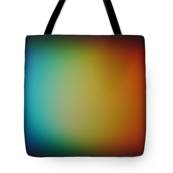 Light Refracted - Rainbow Through Prism Tote Bag