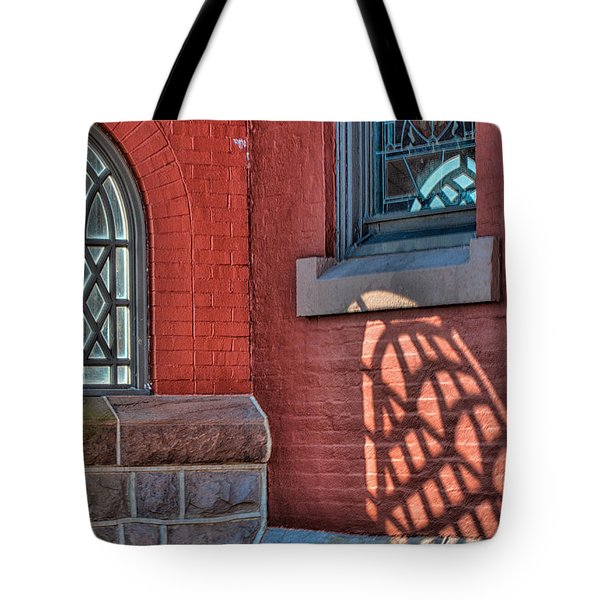 Light Shadows And Reflections Tote Bag