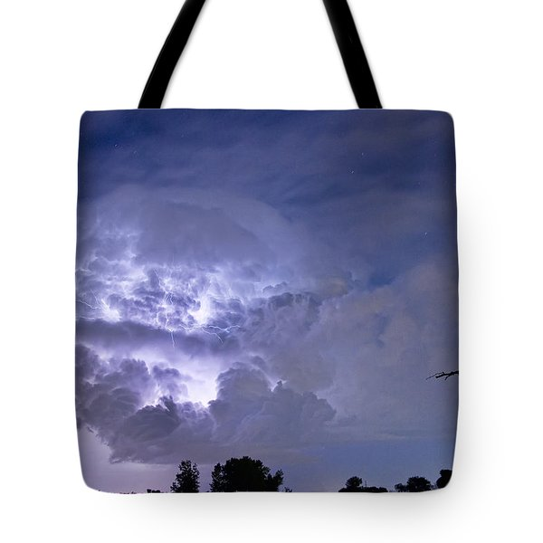 Light Show Tote Bag by James BO  Insogna
