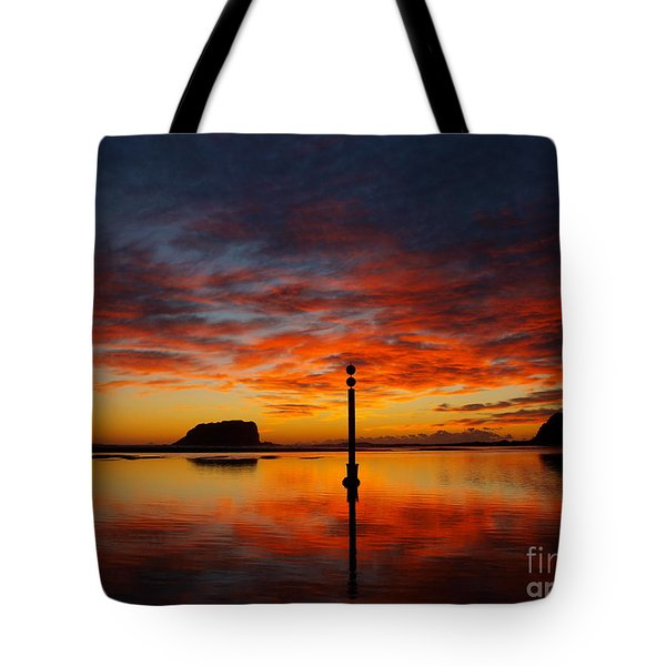 Tote Bag featuring the photograph Light Show by Trena Mara