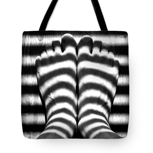 Light Socks Tote Bag