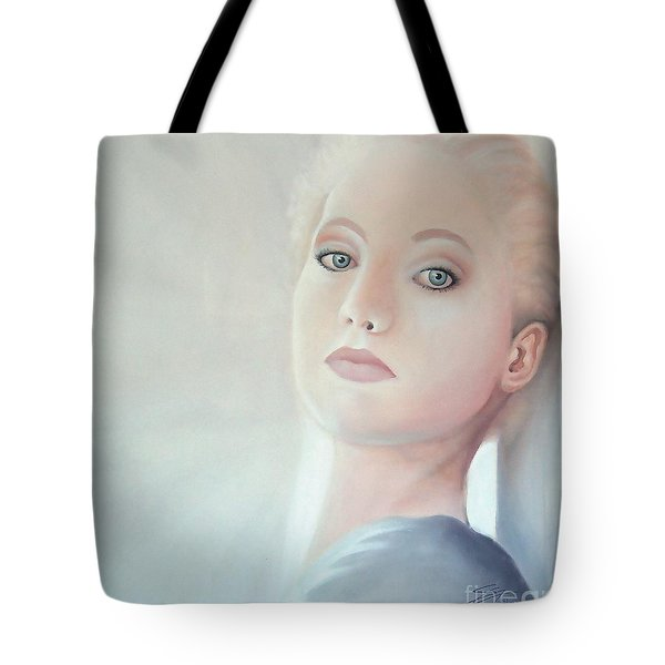 Tote Bag featuring the painting Light by S G
