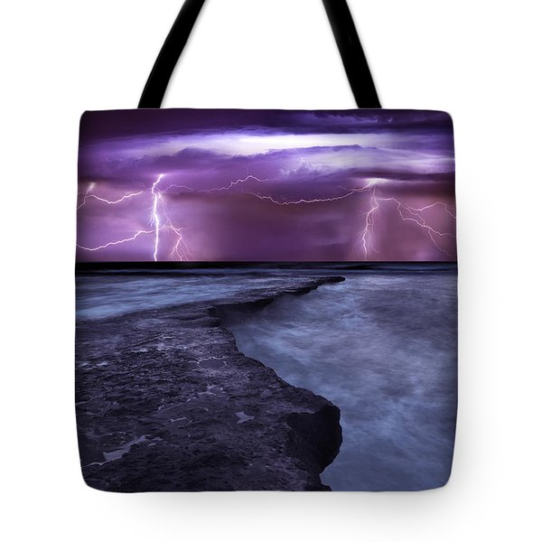 Light Symphony Tote Bag by Jorge Maia