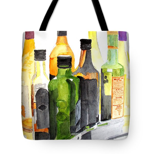 Light Through Glass Tote Bag