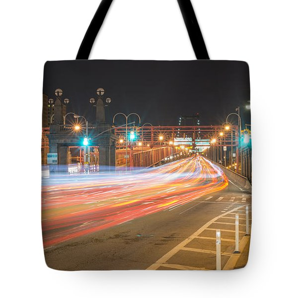 Light Traffic Tote Bag