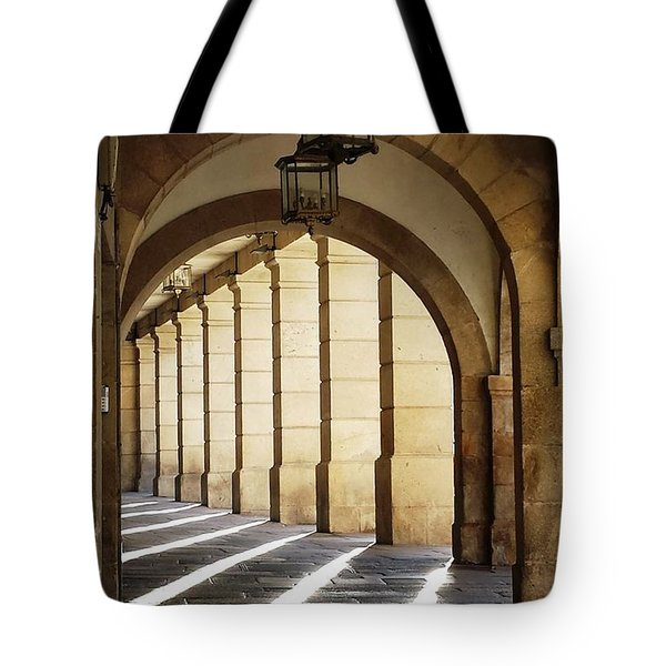 Light Unto My Path Tote Bag