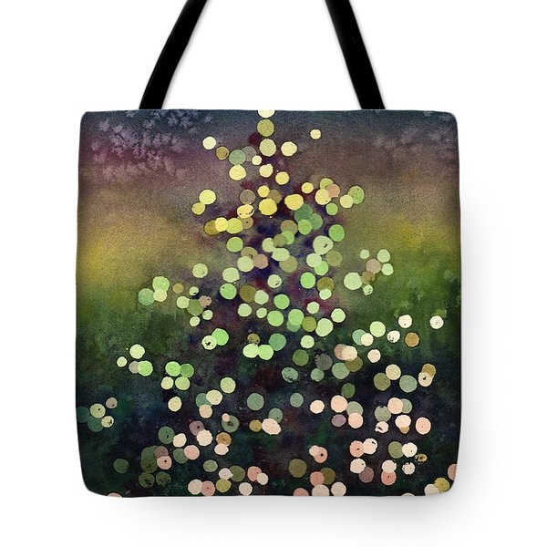Light Up The Season Tote Bag by Anne Gifford