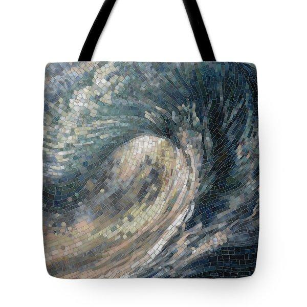 Light Wave  Tote Bag