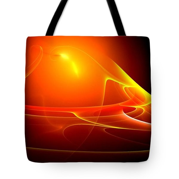 Lightdance   Tote Bag by Peter R Nicholls