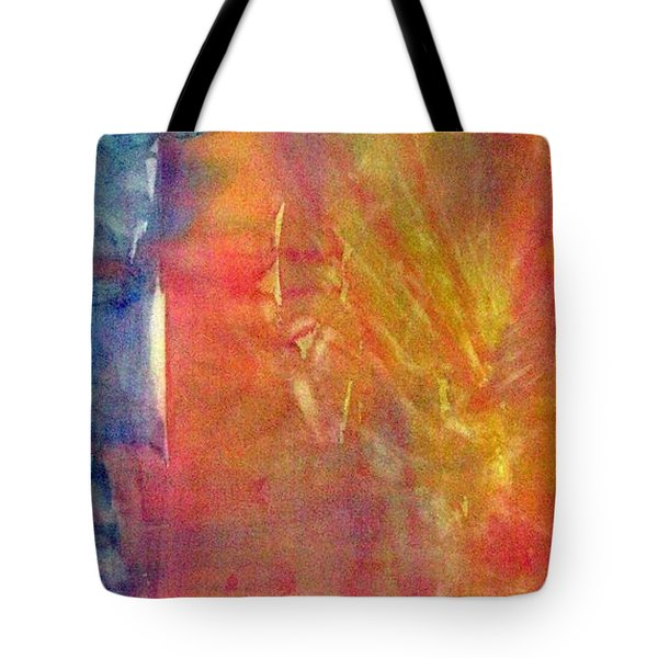 Lightdragon Blowing Back The Veil Tote Bag