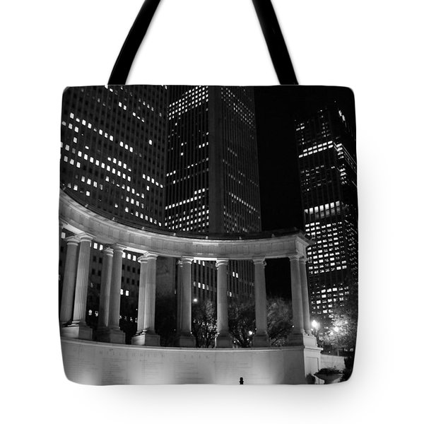 Lighted Monument Tote Bag