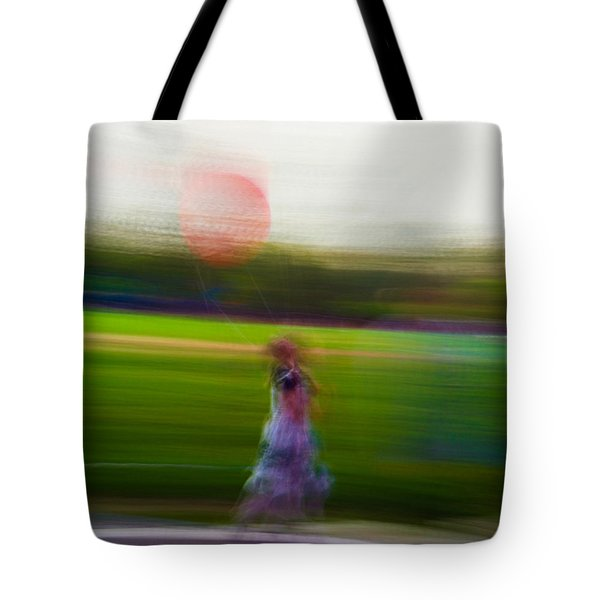 Tote Bag featuring the photograph Lighter Than Air by Alex Lapidus