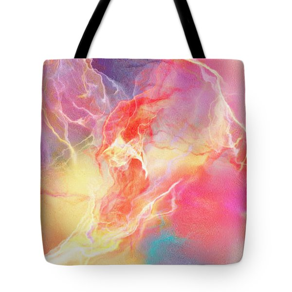 Lighthearted - Abstract Art Tote Bag by Jaison Cianelli