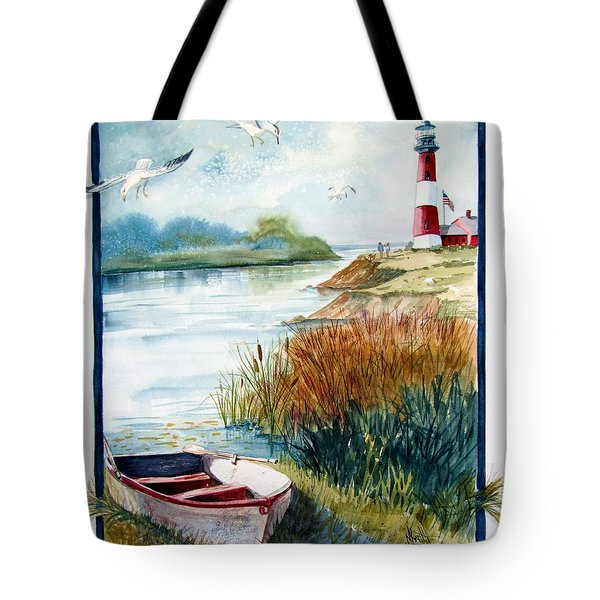 Lighthouse 1 Tote Bag by Marilyn Smith