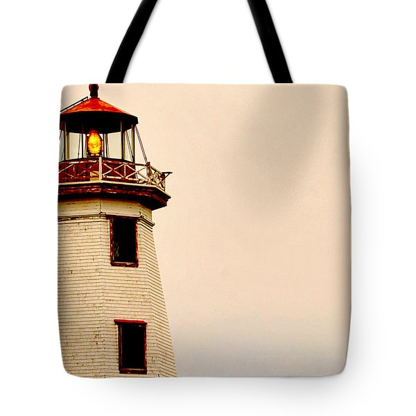 Lighthouse Beam Tote Bag