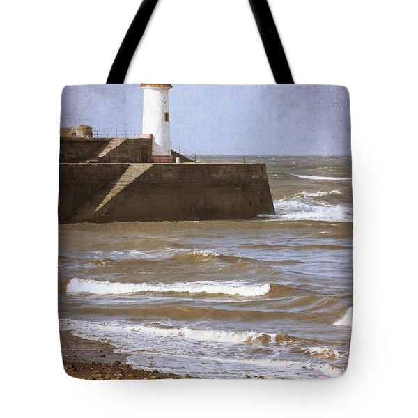 Lighthouse Tote Bag by Amanda Elwell