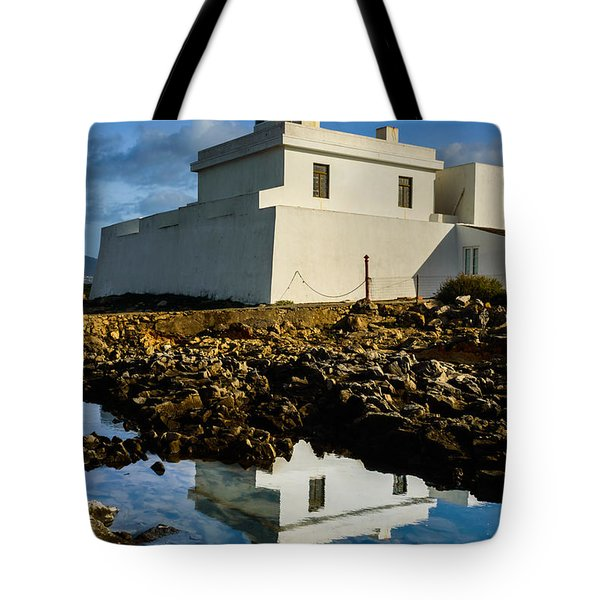 Lighthouse Tote Bag by Marco Oliveira