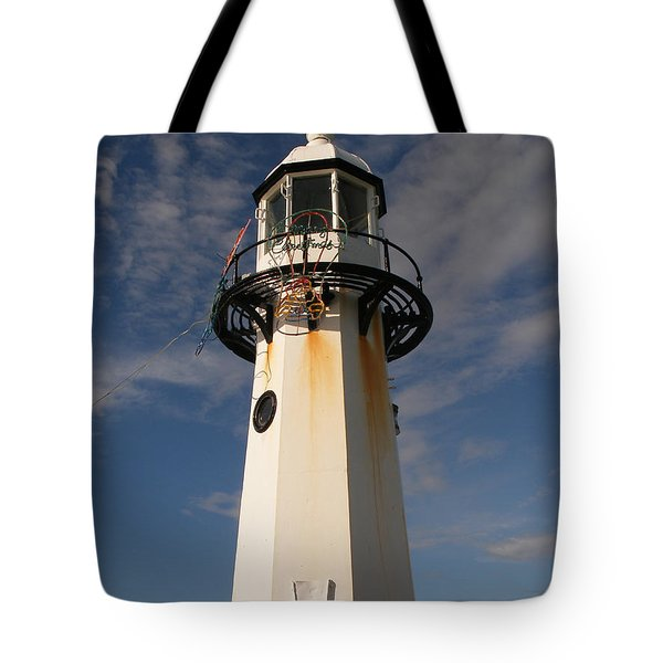 Lighthouse  Tote Bag by Pixel  Chimp