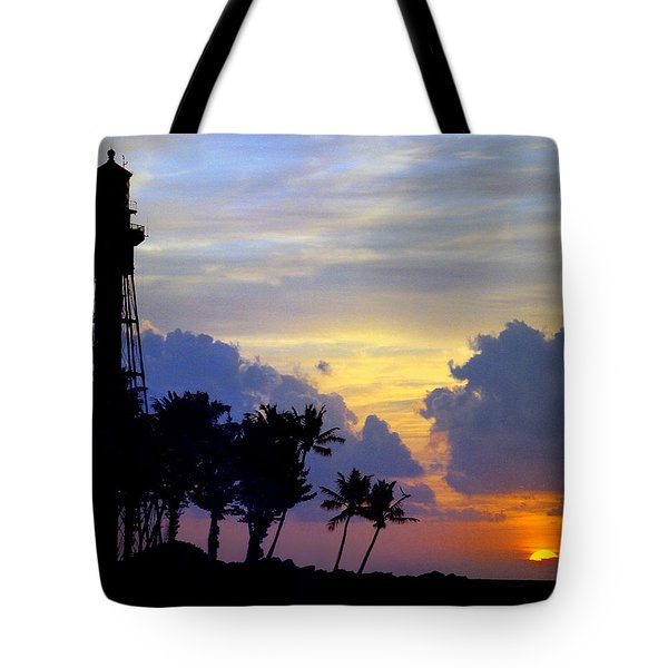 Lighthouse Point Sunrise 2 Tote Bag