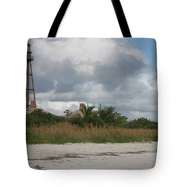 Tote Bag featuring the photograph Sanibel Island Light by Christiane Schulze Art And Photography