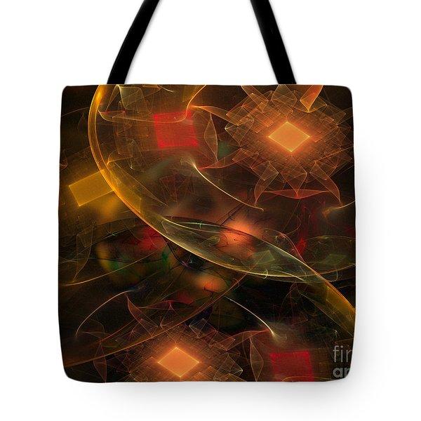 Lighting Decorations Tote Bag by Klara Acel