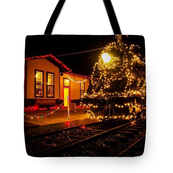 Lighting The 905 Tote Bag by Toni Hopper