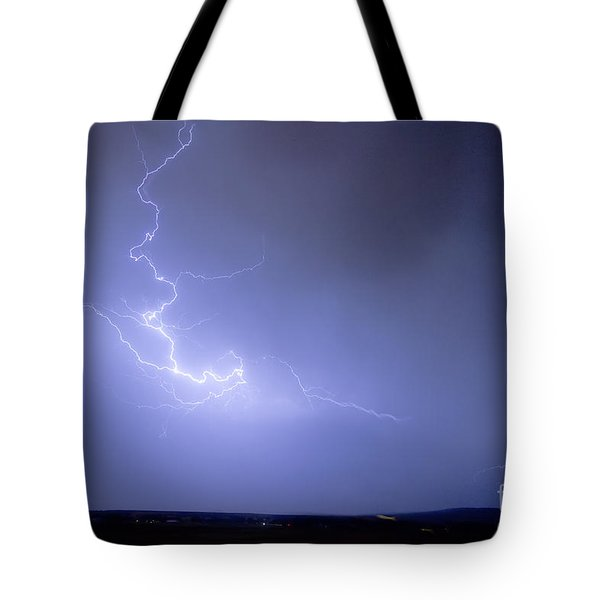 Lightning Goes Boom In The Middle Of The Night Tote Bag by James BO  Insogna