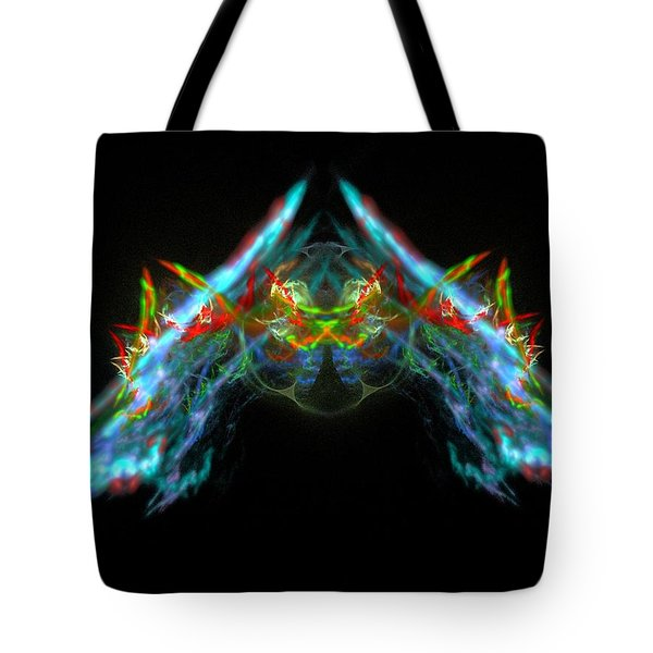 Lightning Storm Tote Bag by Bruce Nutting