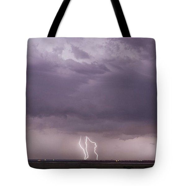 Tote Bag featuring the photograph Lightning Storm by Rob Graham