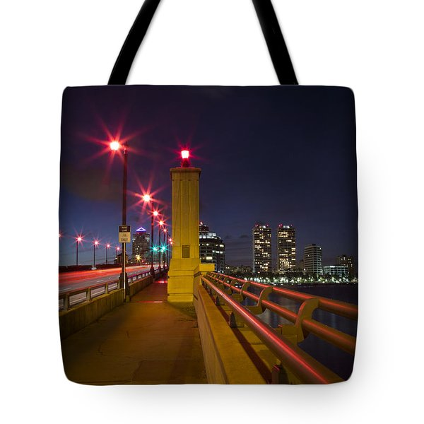 Lights At Night Tote Bag