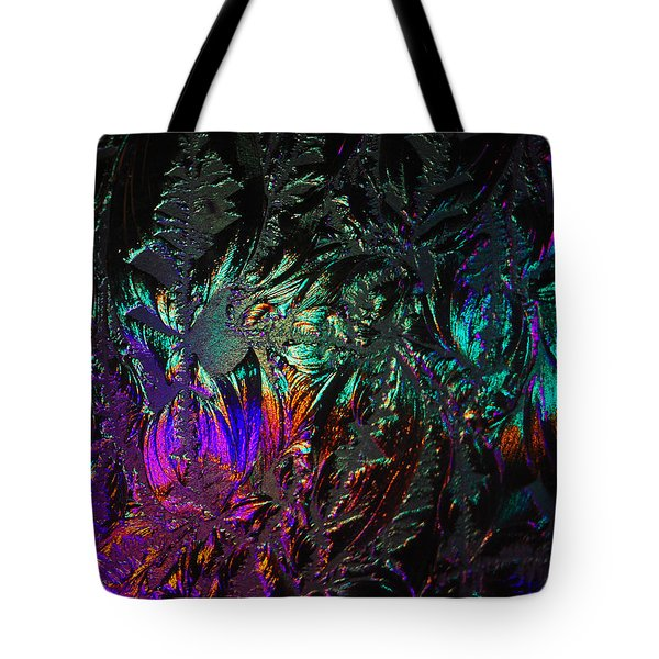 Lights Behind Frosted Glass Tote Bag